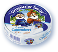 Striegistaler Zwerge Camembert 6 Ecken